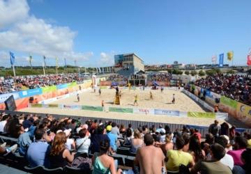 O Estádio de Praia está de volta à Praia Internacional do Porto