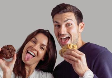 O casal australiano que se apaixonou pelo Porto e abriu uma loja de cookies gigantes